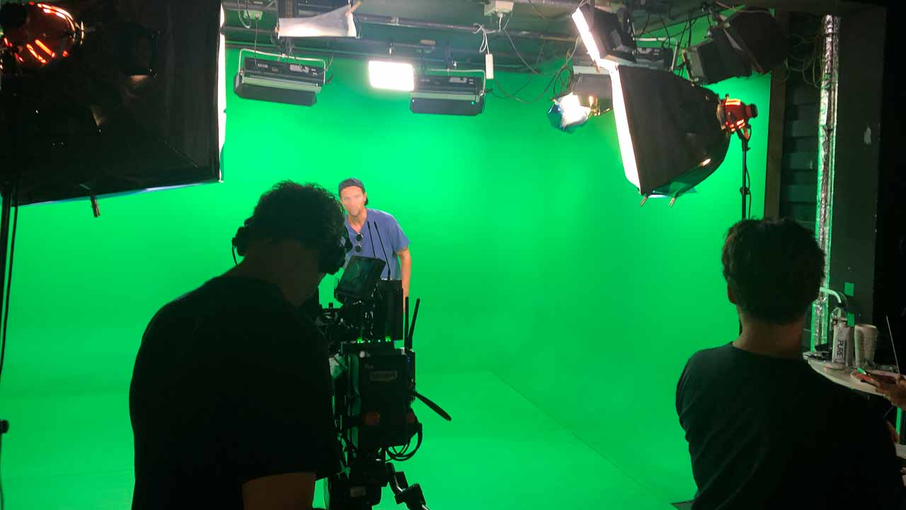 Green screen production