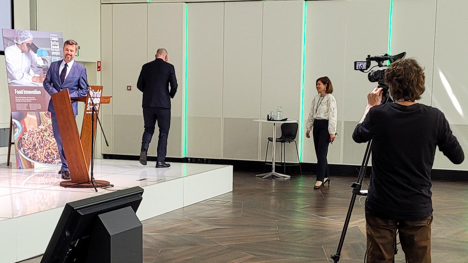 World Food Summit billede med Kronprins Frederik