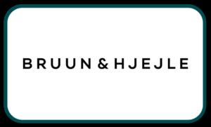 Bruun & Hjejle kunde logo